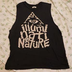 UNIF Illuminati by Nature muscle shirt Small